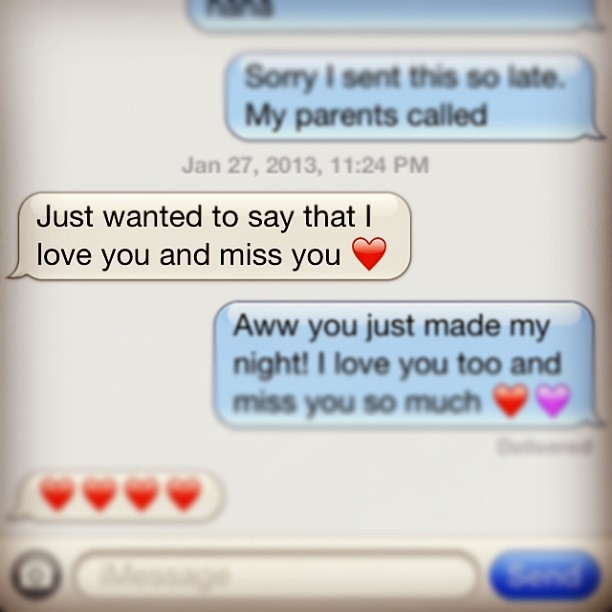 It's messages like this that puts a smile on my face! I love you best friend. I cannot imagine my life without you in it! ❤ @oliviaacormier