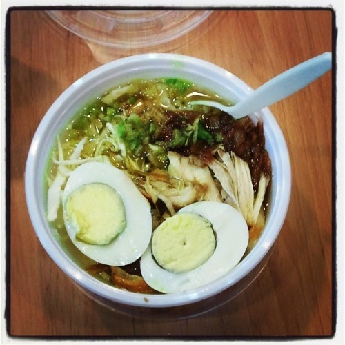 Finally eat soto :)) (at 台灣科技大學 National Taiwan University of Science and Technology)