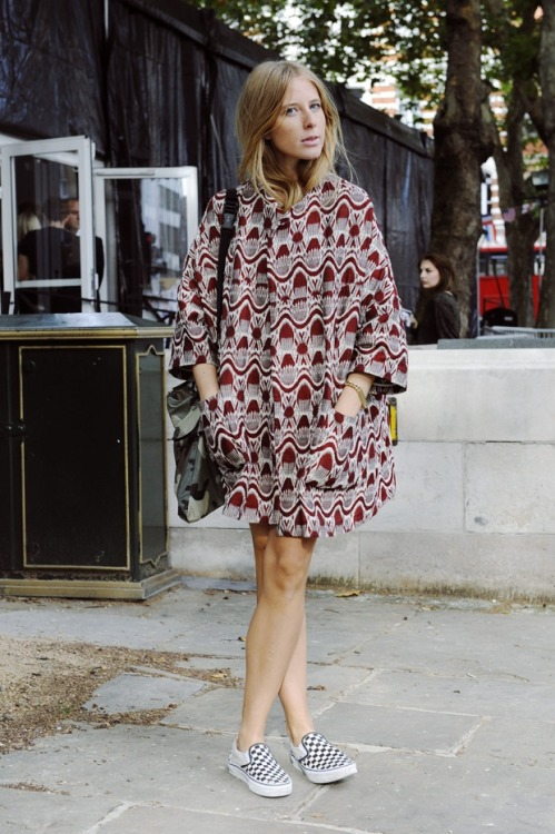 what-do-i-wear:  London does whimsical prints: street style