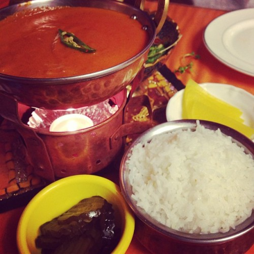 Indian food *—* #indian #food #delicious #seoul #korea #igx3 #c0m #gramfriends  (em Amma)