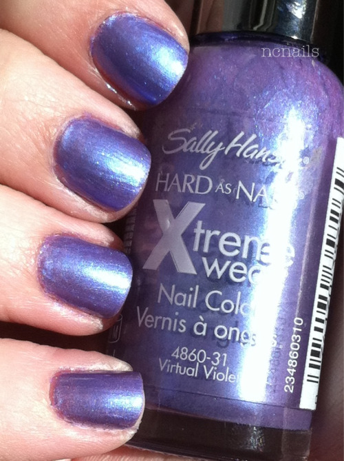 Virtual Violet- Sally Hansen Xtreme Wear