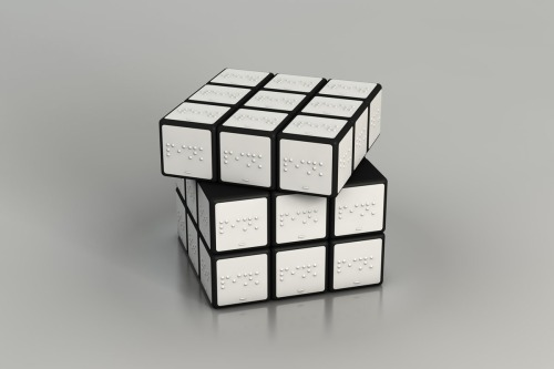 Rubik's Cube for the Blind by Konstantin Datz