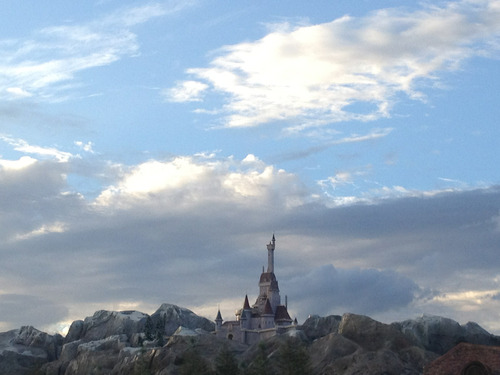 Beast's castle. My picture :)