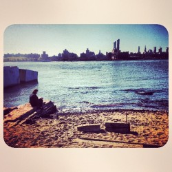 pommeblossom:  #williamsburg #waterfront #brooklyn #newyork