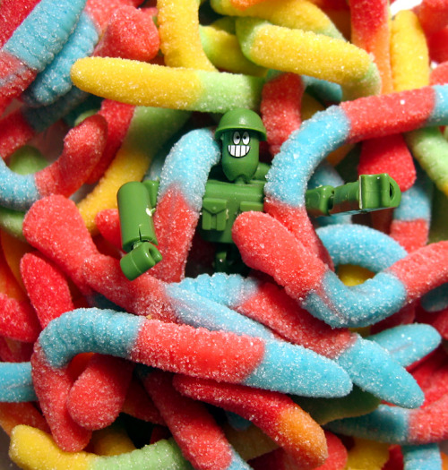 Gummy Worms.