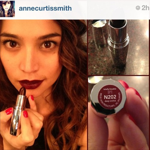 I sooo #love and #want her lippie. :) @annecurtissmith