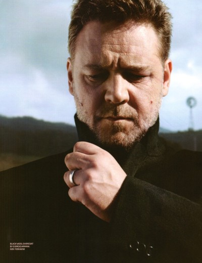 rustycrowe:  Russell Crowe in British GQ Magazine in 2010.