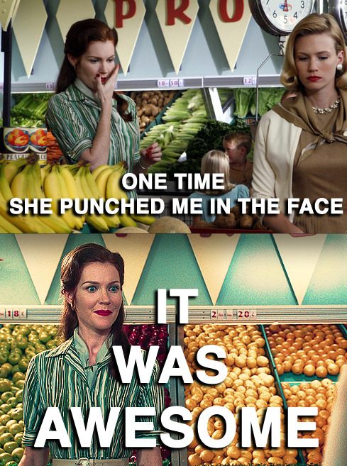 Mad Men meets Mean Girls in a new Tumblr caption blog