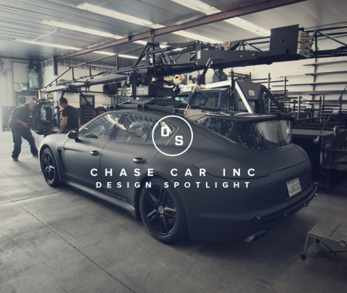 Design Spotlight: Chase Car Inc. Porsche Panamera Turbo Camera Car. Million Dollar Baby (maker).