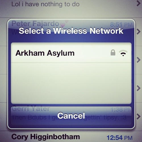 Yes! #batman #arkhamasylum #awesome
