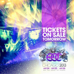 insomniacevents:   EDC is headed to the Midwest! Electric Daisy Carnival Chicago 2013 tickets on sale tomorrow at noon CT!   BE THE RAVE: Electric Daisy Carnival Las Vegas Ticket Giveaway