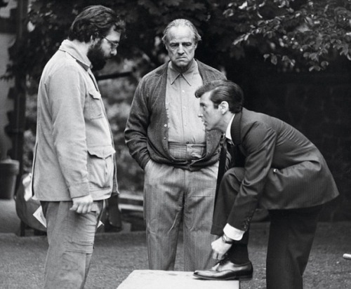 'The Godfather' moviet set