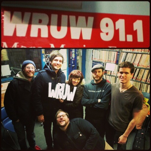 Last night we were on #wruw 91.1 at #casewesternreserve #university talking about our #new #album #thereunion #college #collegeradio #radio #band #bethesda #cleveland #cle #akron #kent #cwru #music