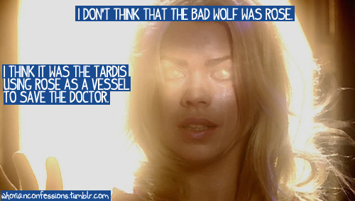 I don't think that the Bad Wolf was Rose. I think it was the TARDIS using Rose as a vessel to save the Doctor.
