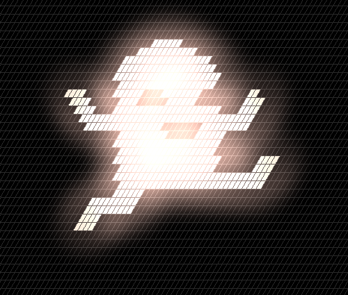 Potatoman art created using Hexels (beta).