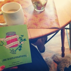 Morning reading & coffee www.danielascrima.com  #homesweethomegrown#happycoffee##kickstarter#microcosmpublishing#robynjasko#jenniferbiggs#peoplewithpotential#pinkhair#portland#goldendoodle#buttercoffee#bulletproofcoffee#ombrehair#pinkombrehair#local#diy#foodnotlawns#homegrown#coffeeart#meal1#paleo#primal#portlandia#portland#motivation#danielascrima#positivethinking