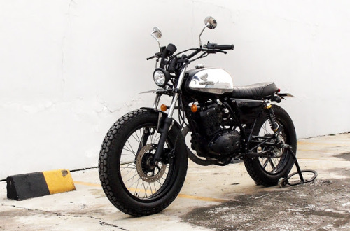Sweet little Street Tracker by the Katros Garage of Indonesia