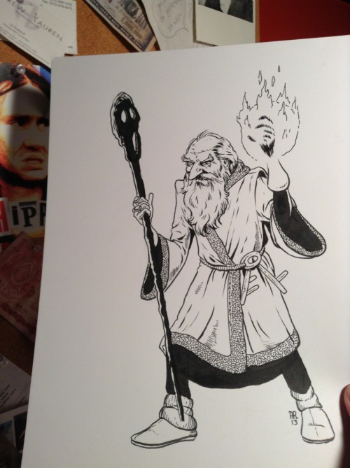 Crazy old wizard