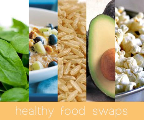 fitblrvictory:  12 healthy food swaps