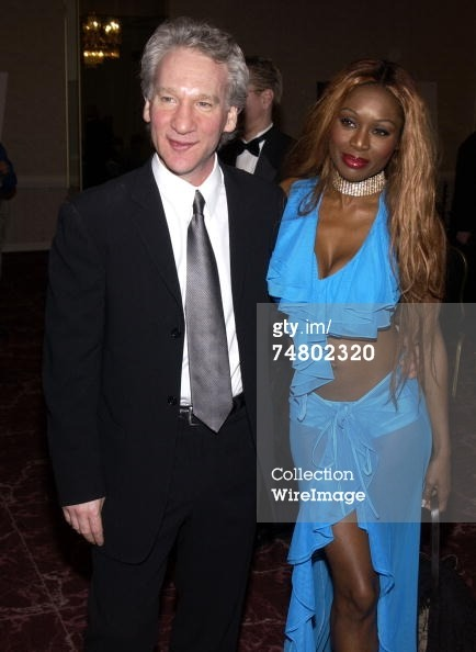 Bill Maher & Coco Johnson, 2003