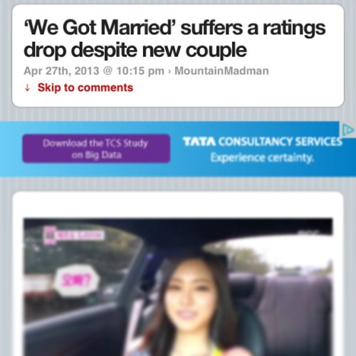 As much as I love Taemin, in my opinion the couple paring went so wrong.. It should've been Key Or Onew but since Taemin is young I can't see him go so quickly and get married(do you know what I mean?hah). The rating probably went down because of some of fan girls and boys would've been disappointed (like me) but they will still watch because it's their bais and they should support them even though they don't like the fact they're married.. Is it just me who feels this way? Who honestly agrees with me? #onew#key#taemin#naeun#wegotmarried#allkpop#shawol#apink#kpop#shinee