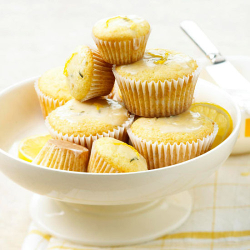 Fresh Rosemary and Lemon Cupcakes: These savory-sweet cupcakes are filled with springtime flavor.