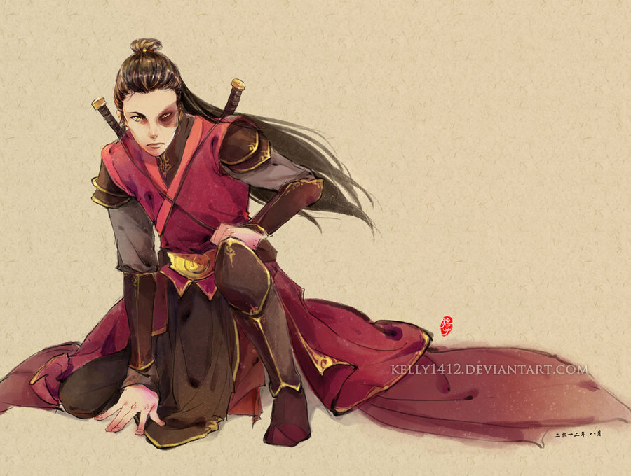 axxxrey:  Grown up Zuko by *kelly1412