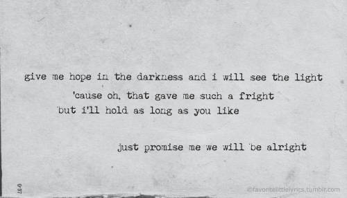 "favoritelittlelyrics:  Mumford & Sons, ""The Ghosts That We Knew"""