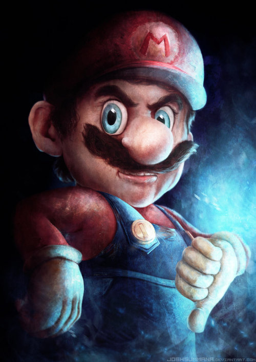 Mario Created by Josh Summana You can also watch the Speed Painting!