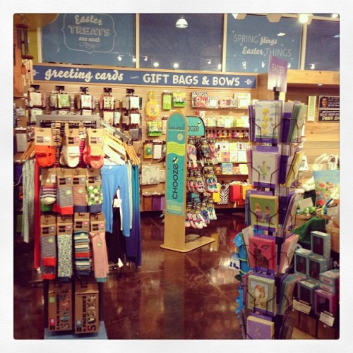 We spy CHOOZE shoes at Whole Foods Market in Plano,TX!