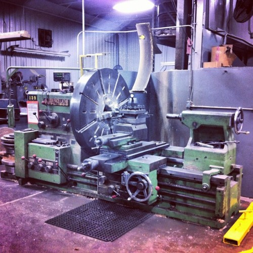 Tuda Face Lathe. #machineshop #lathe #pittsburgh #work