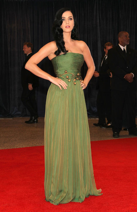 Katy Perry in Giambattista Valli Fall 2012 Couture