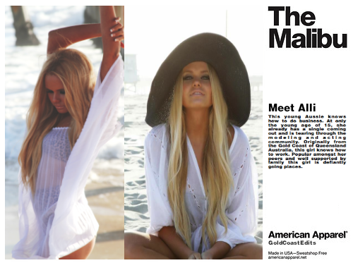 goldcoastedits:  So proud of Alli! She looks amazing in this photoshoot!