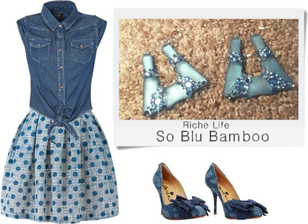 So Blu Bamboo - Riche Life by richelife featuring lanvin shoes