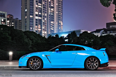 itcars:  Nissan GT-R Image by This Will Do