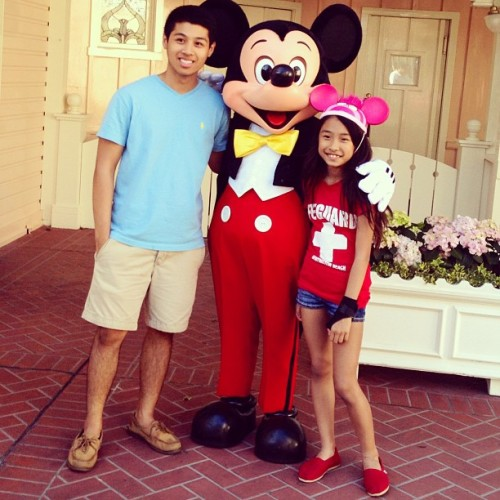 I miss them already! Come back soon. Love you!!! // #disneyland #vacation #familyreunion #mickeymouse #family #fambam #love