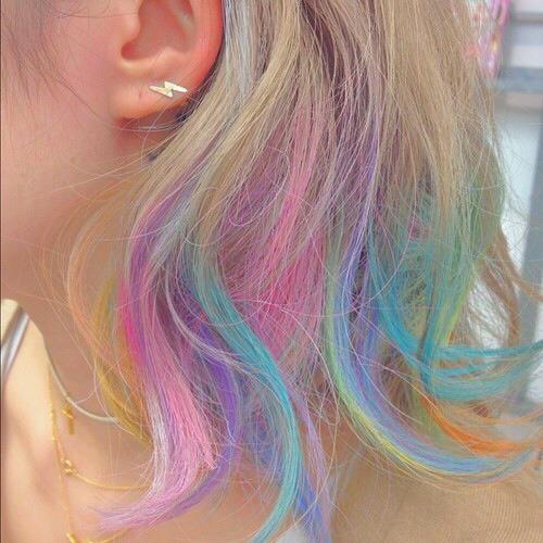 Hair Chalk  Tumblr