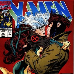 Just like that. 😍😘 #Xmen #Gambit #Rogue #Marvel #Comics #Cyclops #Wolverine