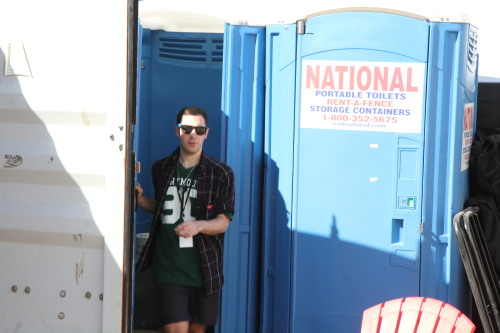 porta potty portraits: alex