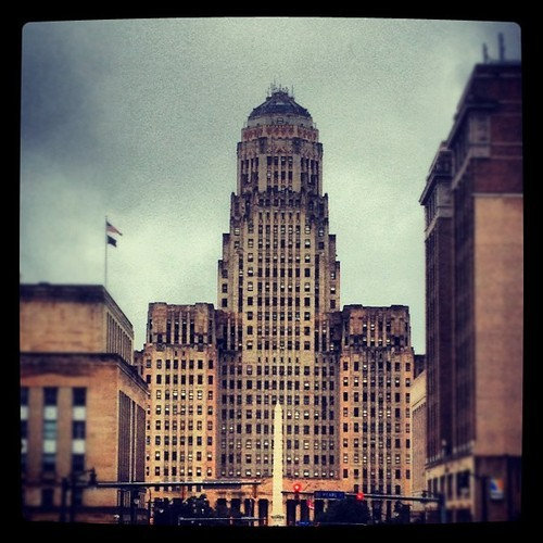 belkebirsofiane:  #building #buffalo #art#city