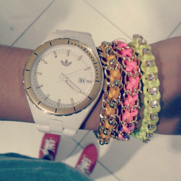 Arm candies.