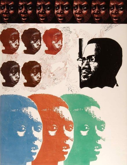 Elizabeth Catlett (1915-2012) Malcolm X Speaks for Us, 1969 The Studio Museum in Harlem 72.9.4