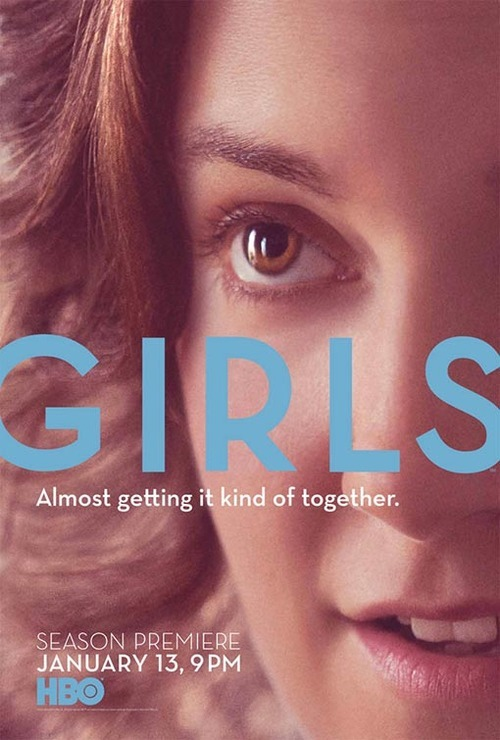 The main question we have about Girls season 2's new poster: Is Lena Dunham naked in this picture?