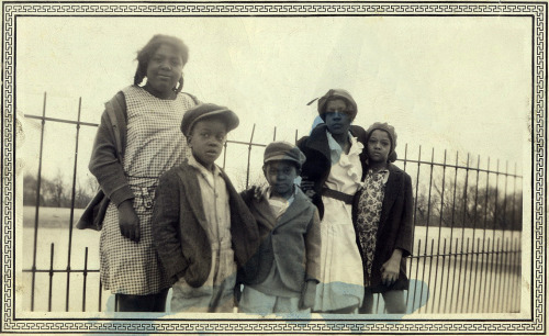 Family Pride March 24, 1931 Lafayette, Lousiana ©WaheedPhotoArchive, 2013