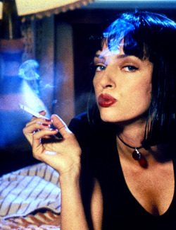 heytheredalayla:  Uma Thurman in Pulp Fiction (1994)