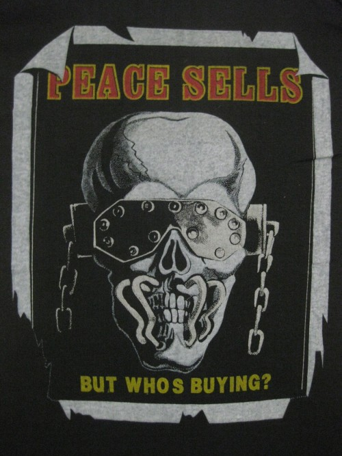 robotcosmonaut:  Peace Sells…But Who's Buying?