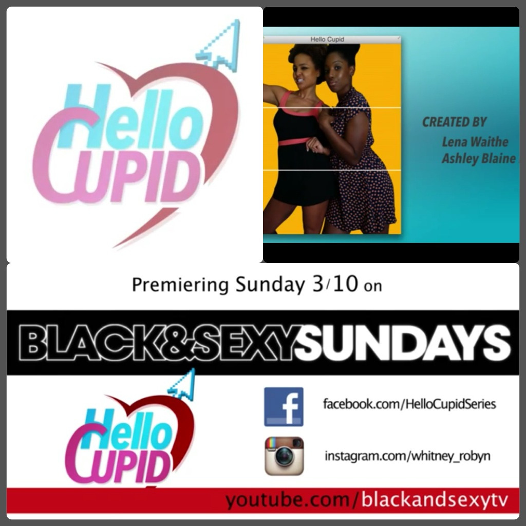 Hello hello hello!! Check out our new show Hello Cupid!! Premiering March 10th