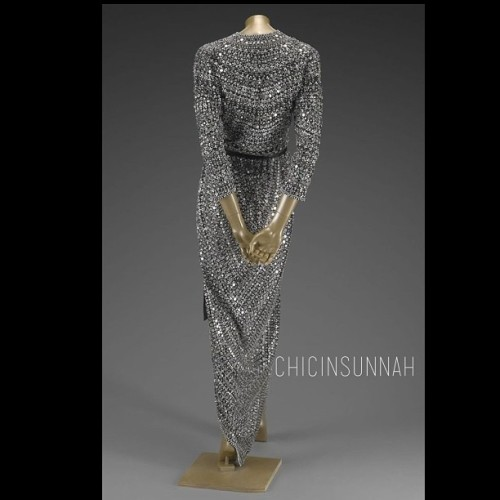 #ChicBeat Love this beaded beauty. #chicinsunnah #longsleevedress #fashion #hijab