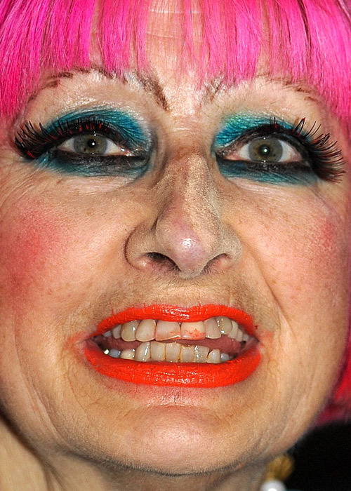 celebritycloseup:  zandra rhodes