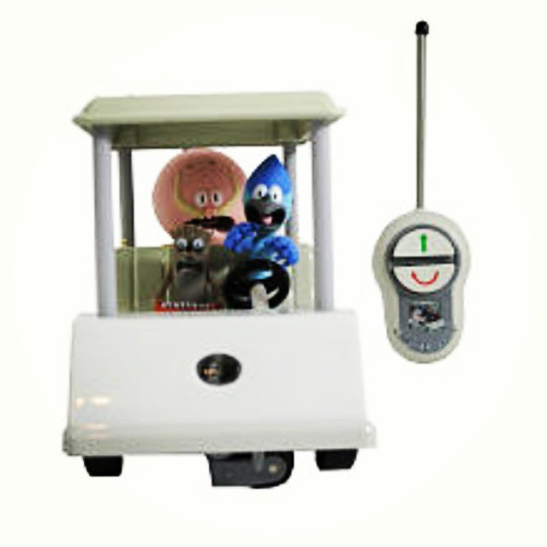 Regular Show remote control golf cart! #toys #regularshow #rc #remotecontrol #toy #toypics #cartoon #cartoons #toystagram